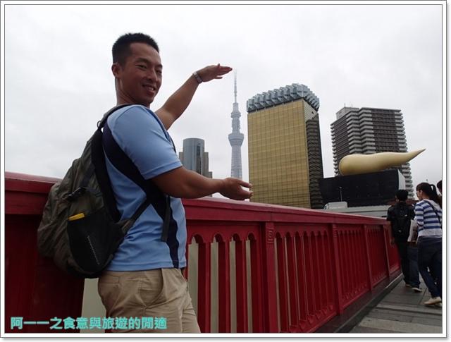 晴空塔天空樹日本東京自助旅遊淺草吾妻橋image005