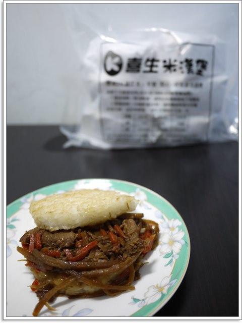 [試吃]團購 喜生米漢堡 牛蒡雞&韓式培根~終於吃到你了