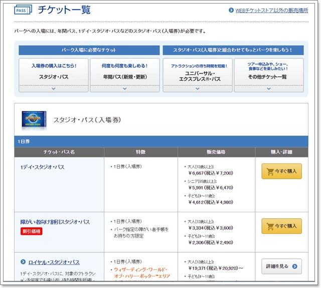 日本環球影城express pass快速通關卷門票線上購買image011