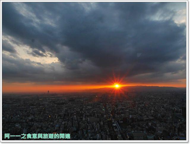 大阪景點.阿倍野展望台.harukas300.夜景.夕陽.天王寺image053