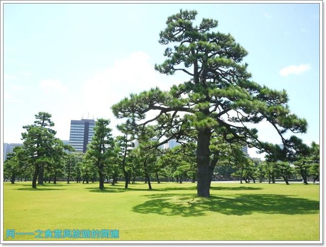 日本東京旅遊自助皇居外苑二重橋櫻田門和田倉噴水公園image020