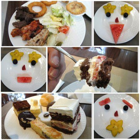 台北老爺大酒店 Le Cafe咖啡廳下午茶(下)~享受精緻甜點與熱食