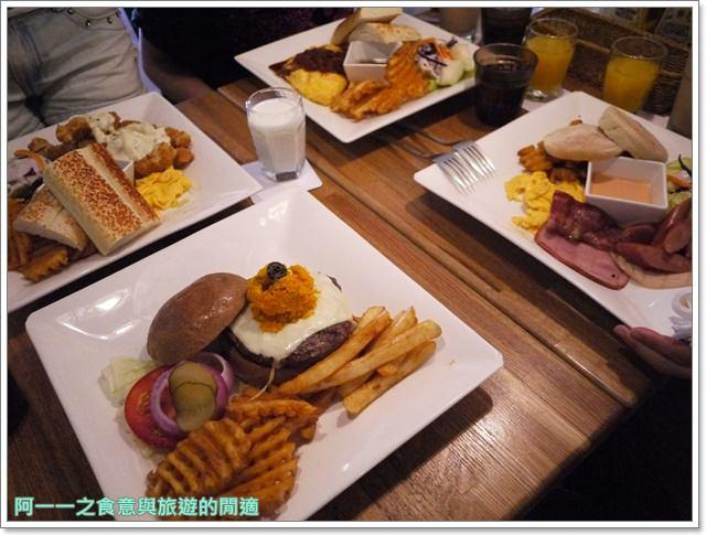 新北新店捷運大坪林站美食漢堡早午餐框框美式餐廳image017
