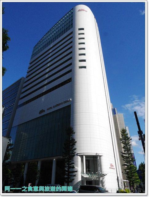 大阪厄爾瑟雷酒店梅天住宿日本飯店夢幻少女風image054